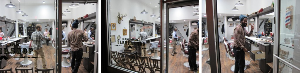 potomak new york made man barber shop